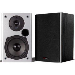 Polk Audio M10, Schwarz - 2-Wege Bassreflex Regallautsprecher, Stückpreis