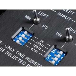EMOTIVA XPS-1 Kompakter Phono Vorverstärker für MM und MC Tonabnehmer