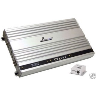 LANZAR OPTI 200X4 NEU Opti 200 X 4 Kanal Endstufe 4 x 200 W rms eUVP 799.- Euro