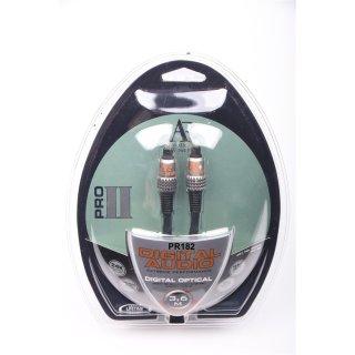 Acoustic Research PR182 3,6 m NEU HighEnd PROII Optisch Digital Kabel UVP 39,99