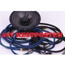 AIV Black Moon Cinchkabel 10,00m Stereo High End RCA Kabel