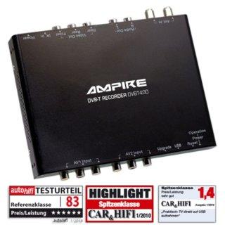 Ampire DVBT400 NEU DVB-T Empfänger mit USB-Anschluss/Aufnahme