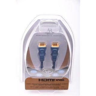 Acoustic Research AP4085 1,8 m NEU Performance Series HDMI Kabel UVP 34,99