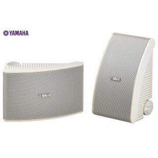 Yamaha NS-AW392 Weiß - Spritzwassergeschützter, UV-Licht beständiger Aussenlautsprecher