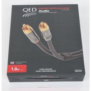 QED Performance Audio Graphite NEU Analog Cinch Stereo 1,0 m EAN 41116