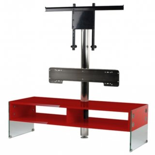 Yamaha Kinsei Rack Piano Rot NEU TV-/HiFi-Rack mit YSP Halter UVP EUR 499,00