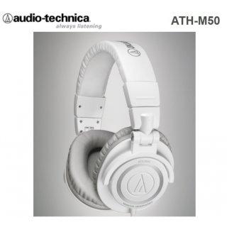 Audio Technica ATH-M50 Weiß - professioneller Studiokopfhörer, N1