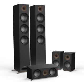 Jamo S809HCS schwarz Neu 5.0 Heimkino Lautsprecher System Set